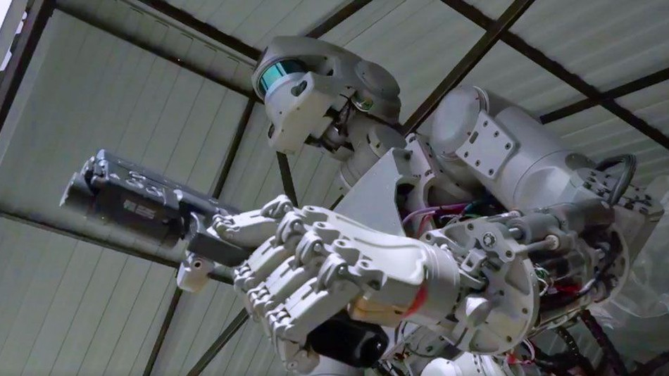 Nga muốn đưa robot bắn súng lên trạm ISS - ảnh 1