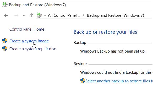 Hướng dẫn tạo bản sao lưu hệ thống trong Windows 10 - ảnh 4