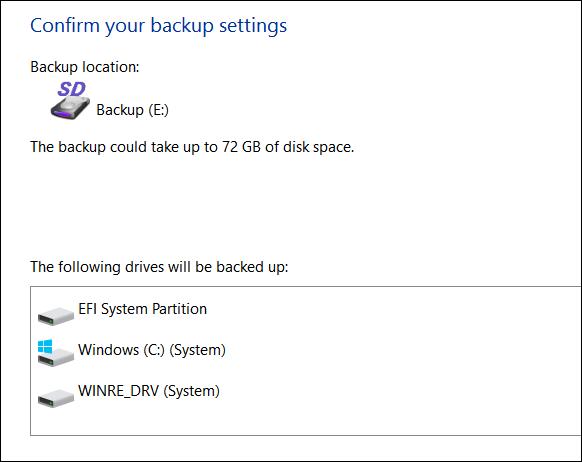 Hướng dẫn tạo bản sao lưu hệ thống trong Windows 10 - ảnh 6