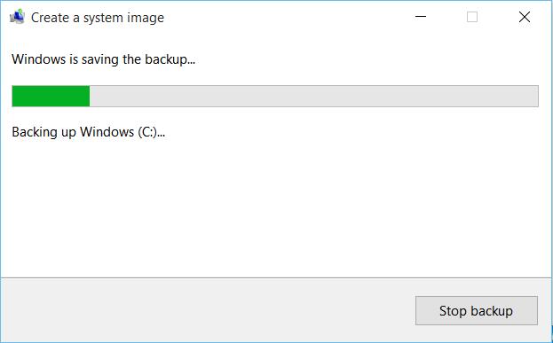 Hướng dẫn tạo bản sao lưu hệ thống trong Windows 10 - ảnh 7