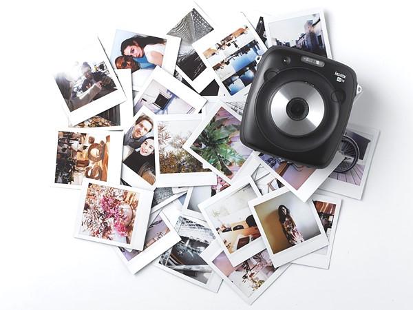 Fujifilm Instax Square SQ10: Chụp ảnh lấy ngay, cho phép lưu file - ảnh 1