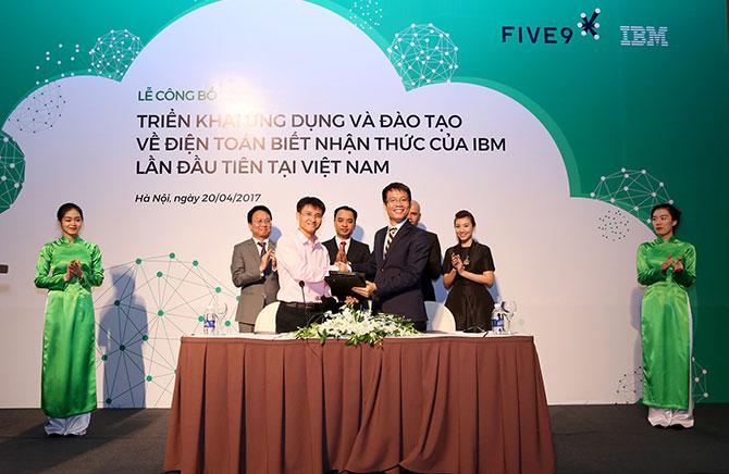 IBM và Five9 hợp tác đưa điện toán biết nhận thức vào Việt Nam