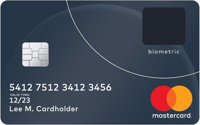 MasterCard tích hợp cảm biến vân tay vào trong thẻ thanh toán - ảnh 1