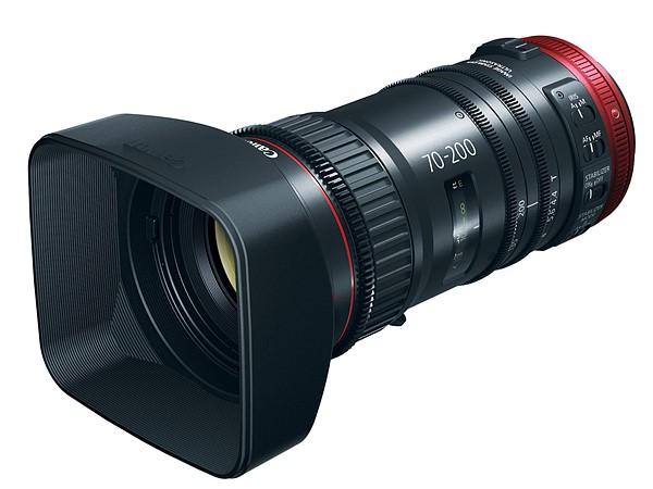 Canon ra mắt ống kính Compact-Servo 70-200mm T4.4 cho giới quay phim