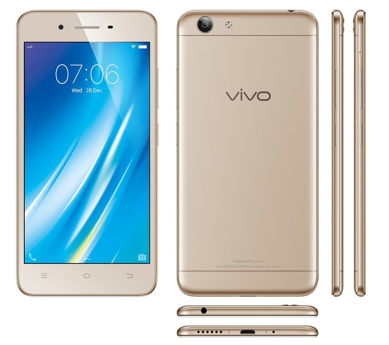 Vivo ra mắt smartphone giá rẻ Y53 có bộ lọc ánh sáng xanh