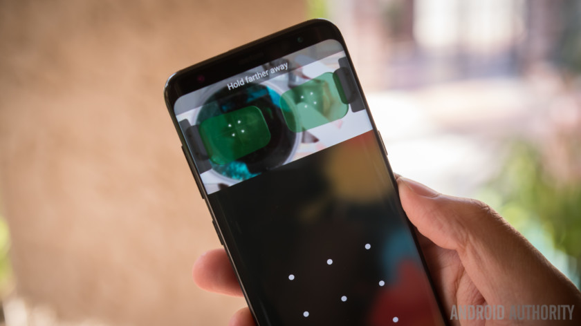 Cảm biến mống mắt Galaxy S8 có thể dùng để thanh toán?