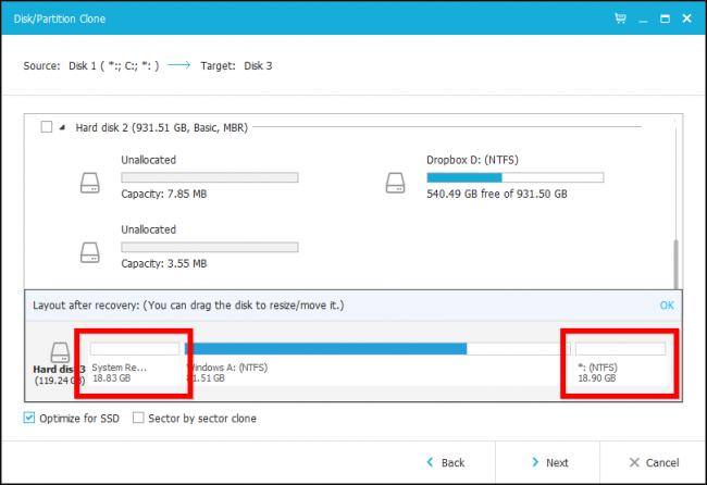 Hướng dẫn chuyển hệ điều hành Windows sang ổ đĩa SSD