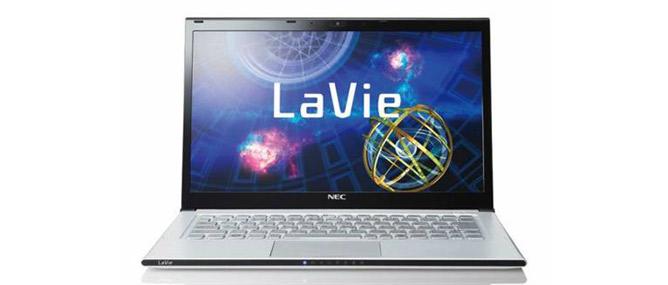NEC tham gia thị trường ultrabook với sản phẩm LaVie Z