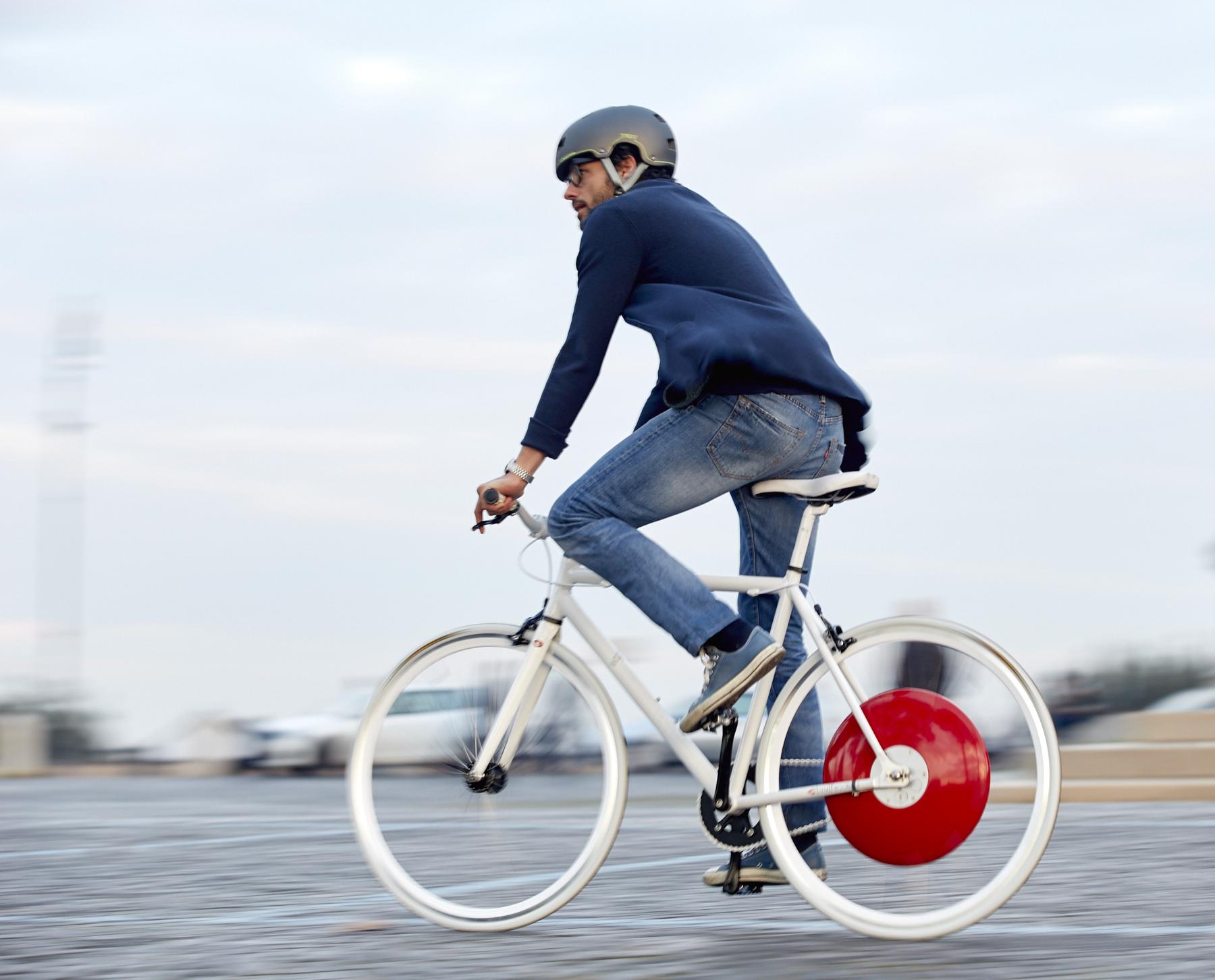 Bánh xe biến xe đạp thành xe đạp điện