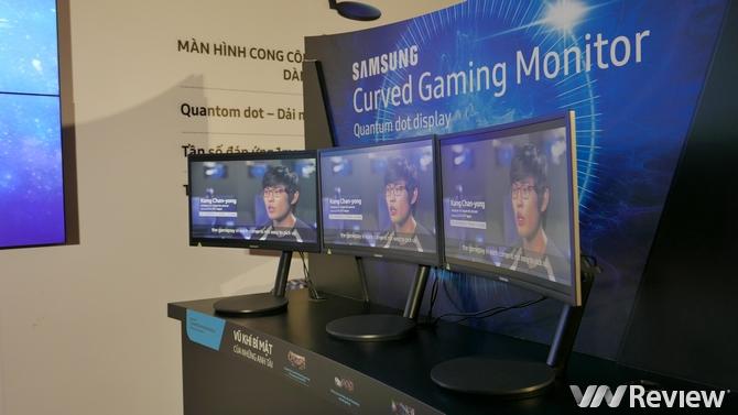Samsung ra mắt màn hình cong CFG70 cho game thủ