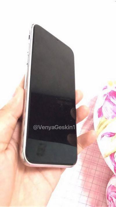 Ảnh thực tế mô hình iPhone 8 không có Touch ID
