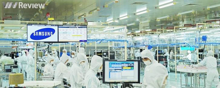 Cận cảnh dây chuyền sản xuất TV Samsung tại TP.HCM