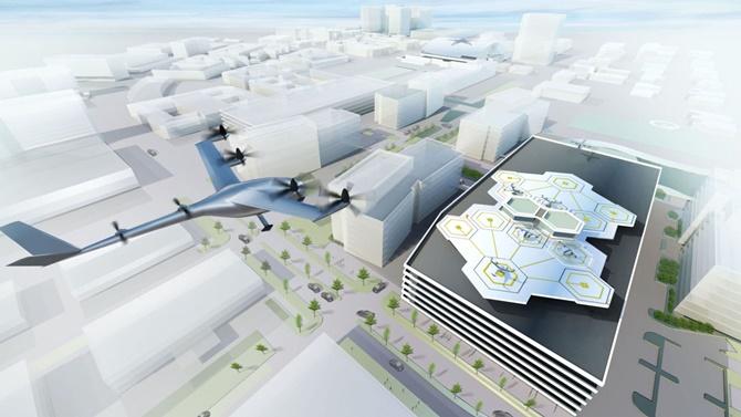 Uber sẽ giới thiệu taxi bay vào năm 2020