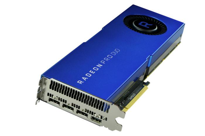 AMD tung ra Dual-GPU Radeon Pro dành cho chuyên gia VR