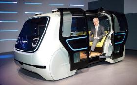 Volkswagen trình diễn xe tự hành Sedric sử dụng AI