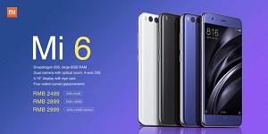 Xiaomi Mi 6 cháy hàng trong đợt flash sale đầu tiên