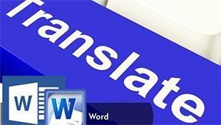 Dịch tài liệu sang tiếng Việt ngay trong Word