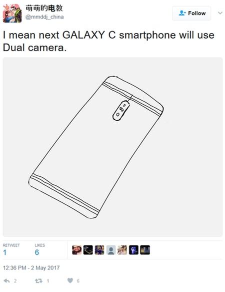 Samsung có thể lần đầu tiên trang bị camera kép cho chiếc smartphone mới thuộc dòng Galaxy C