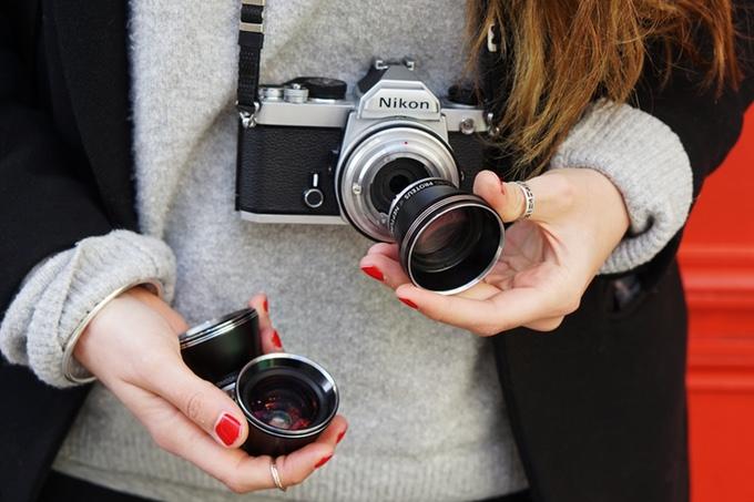 Lomography ra ống kính có thể gắn vào mọi máy ảnh