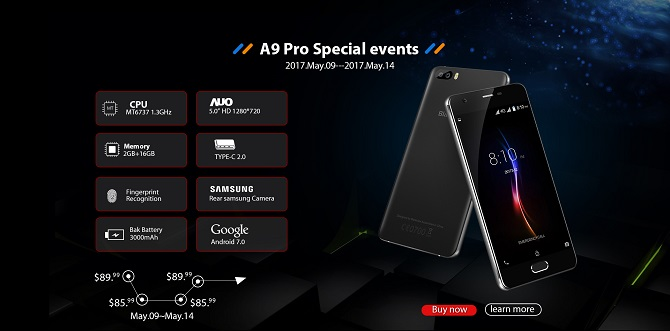 Blackview giảm giá một loạt smartphone trong tháng 5