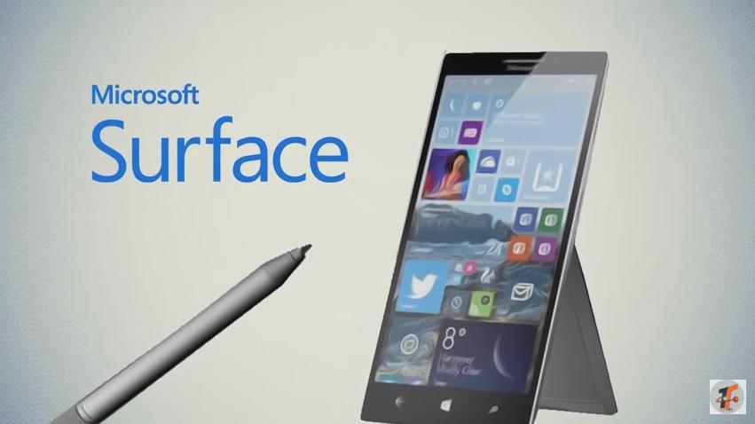 Surface Phone có phải là chiếc Cellular PC mà Microsoft dự định tung ra vào quý IV/2017?
