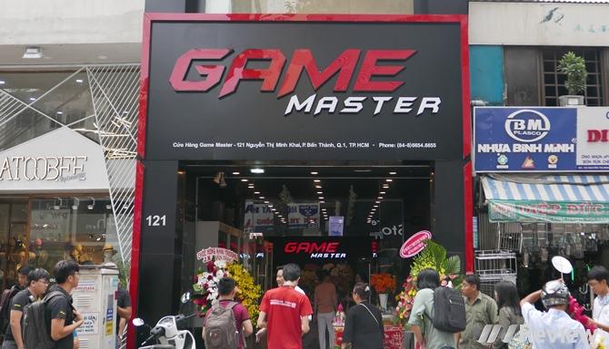 Game Master chính thức khai trương tại TP.HCM