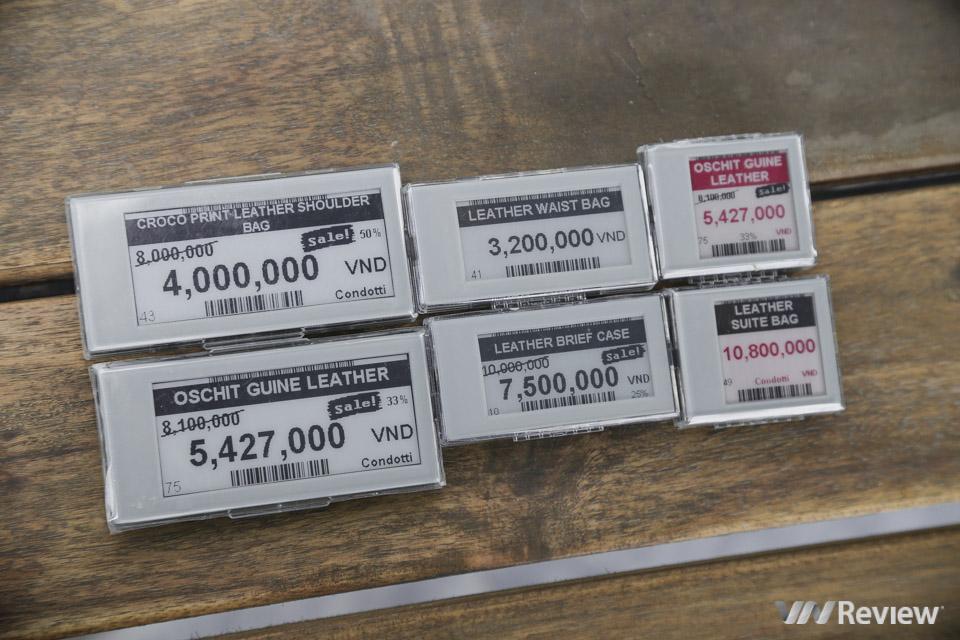 Opticon triển khai giải pháp nhãn giá điện tử ESL ở Việt Nam