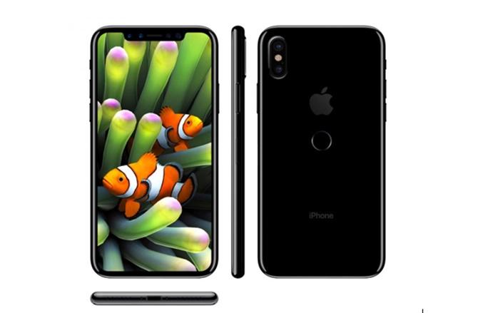 Touch ID của iPhone 8 sẽ được dời ra mặt sau?