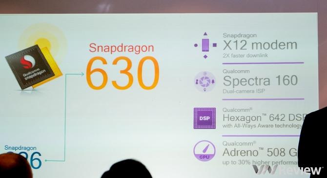 Qualcomm ra mắt Snapdragon 630 và 660 - 187372