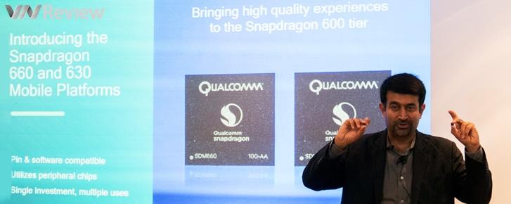 Qualcomm ra mắt Snapdragon 630 và 660: Bổ sung chip hình ảnh Spectra