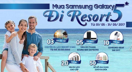 Nghỉ dưỡng miễn phí tại resort 5 sao cùng Samsung Galaxy