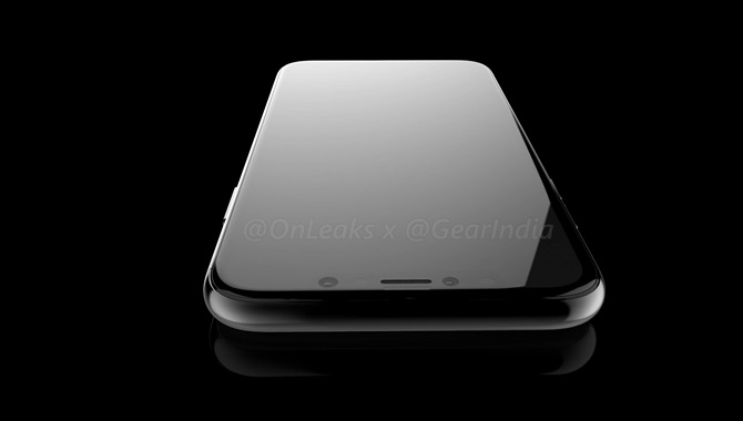 Lộ bản render mới tuyệt đẹp của iPhone 8