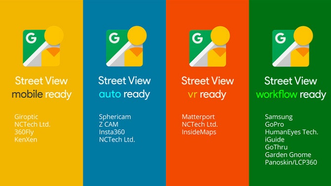 Google công bố chế độ Street View mới, tích hợp 20 camera 360 độ