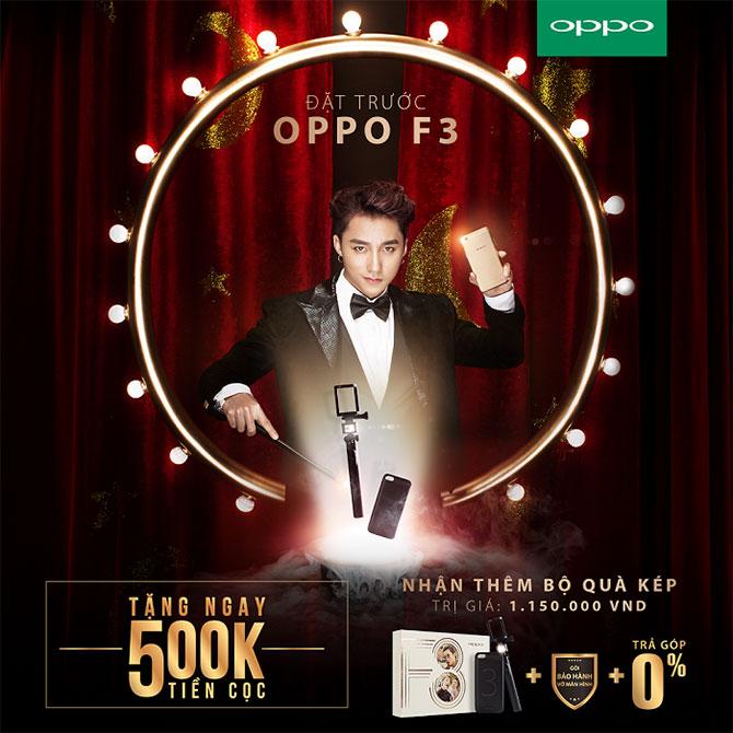 """[QC] Đút túi ngay 500.000 khi mua OPPO F3 trong 2 ngày """"crazy sale"""" duy nhất"""