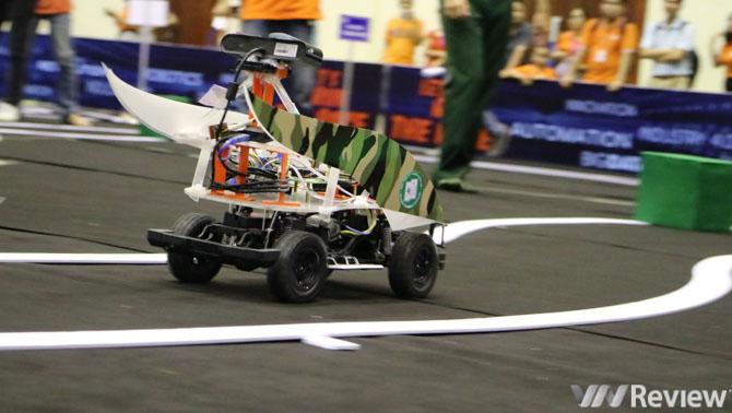 Đã tìm ra đội vô địch cuộc thi xe không người lái đầu tiên tại Việt Nam