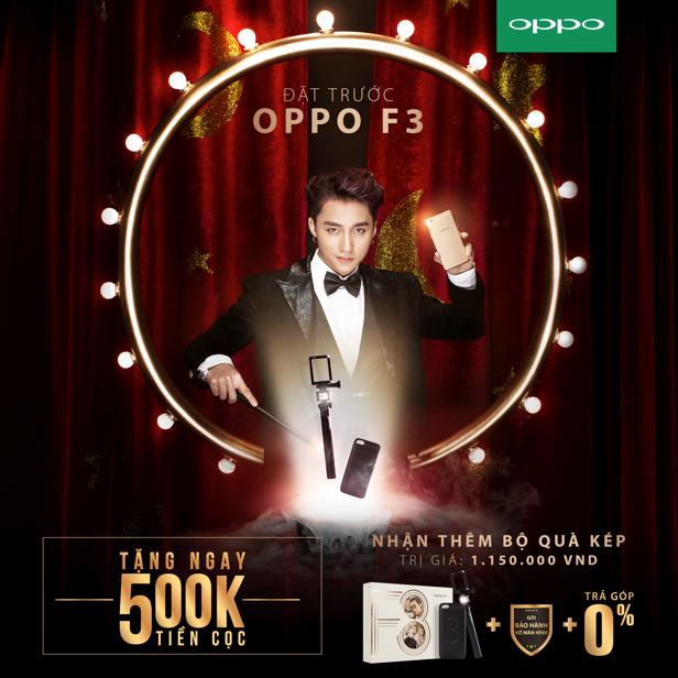[QC] Lượng đặt hàng OPPO F3 tăng gấp đôi khi tặng 500.000 đồng