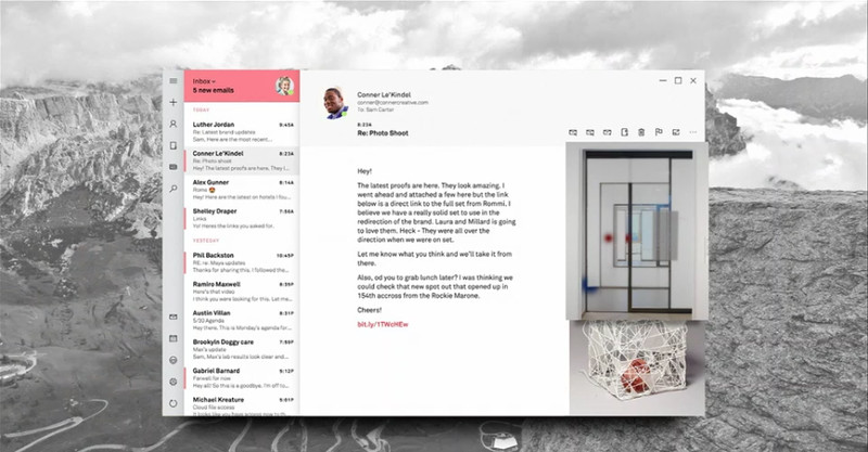 Đây là giao diện Windows hoàn toàn mới với ngôn ngữ thiết kế Fluent Design