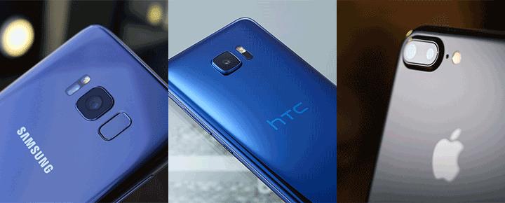 Đọ chi tiết camera: Galaxy S8, iPhone 7 Plus và HTC U Ultra