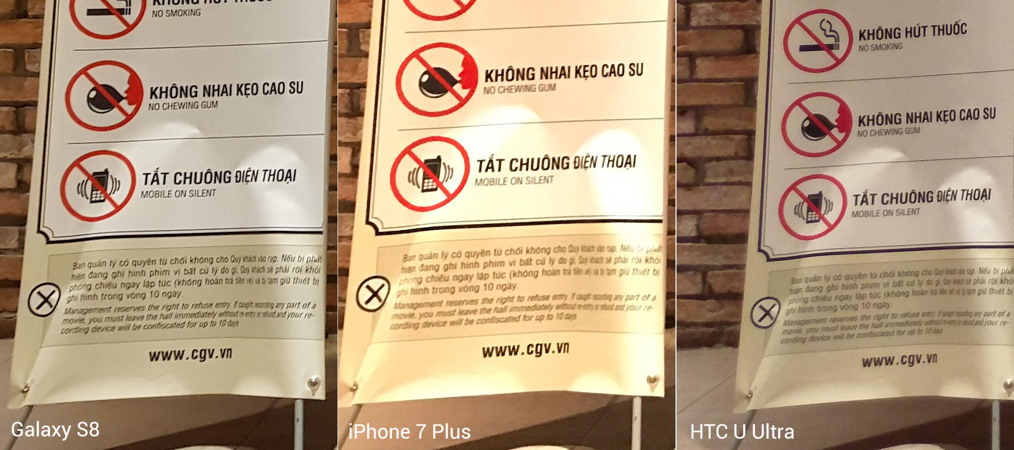 Đọ chi tiết camera: Galaxy S8, iPhone 7 Plus và HTC U Ultra - ảnh 58
