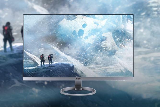 Màn hình PC đầu tiên trên thế giới có cổng USB Type-C Acer H7 về Việt Nam