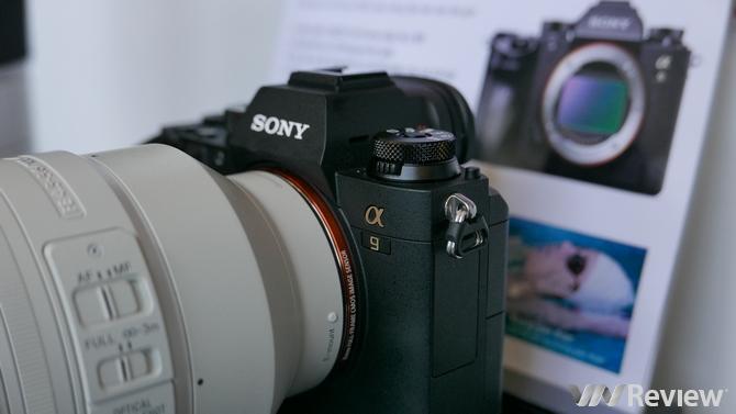 Cận cảnh Sony A9 đầu tiên tại Việt Nam: Sức mạnh DSLR trong thân hình mirrorless