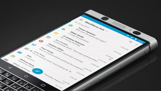 BlackBerry KEYone cho kết quả tuyệt vời trong bài test pin