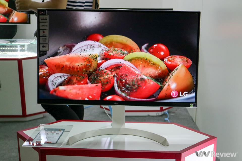 Cận cảnh dòng màn hình cho dân thiết kế, chuẩn màu sắc của LG tại Việt Nam