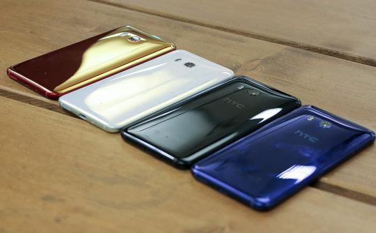 HTC U11 chính thức ra mắt với Edge Sense và Snapdragon 835