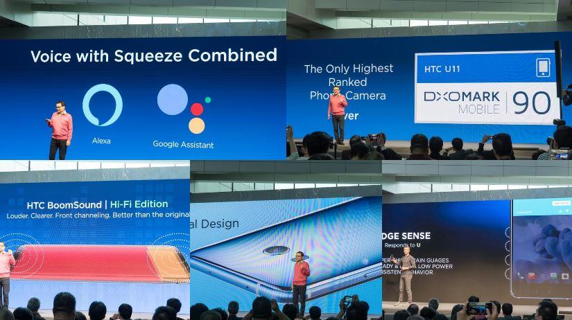 HTC U11 chính thức: Snapdragon 835,