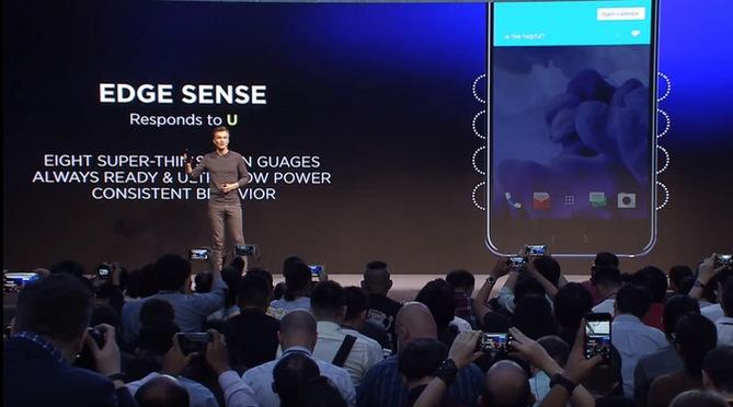 Tính năng Edge Sense trên HTC U 11 làm được gì?