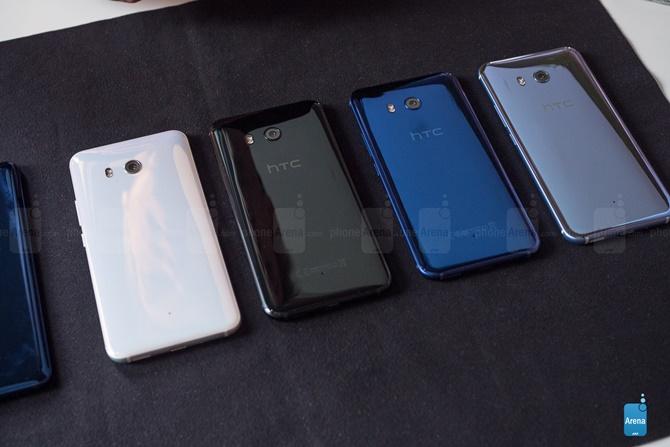 Trên tay nhanh HTC U 11 vừa ra mắt