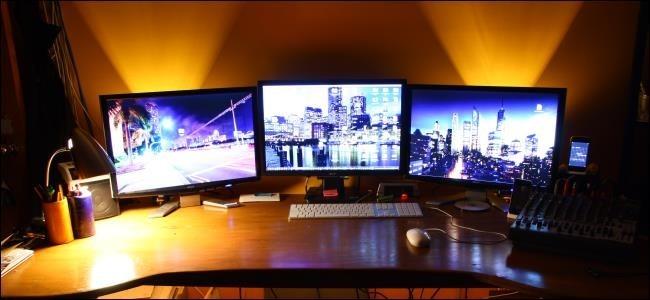 Cách kết nối nhiều màn hình vào một máy tính