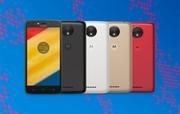 Lenovo ra mắt Moto C và Moto C Plus: RAM 1GB, camera tự sướng 2MP, giá 2-3 triệu đồng