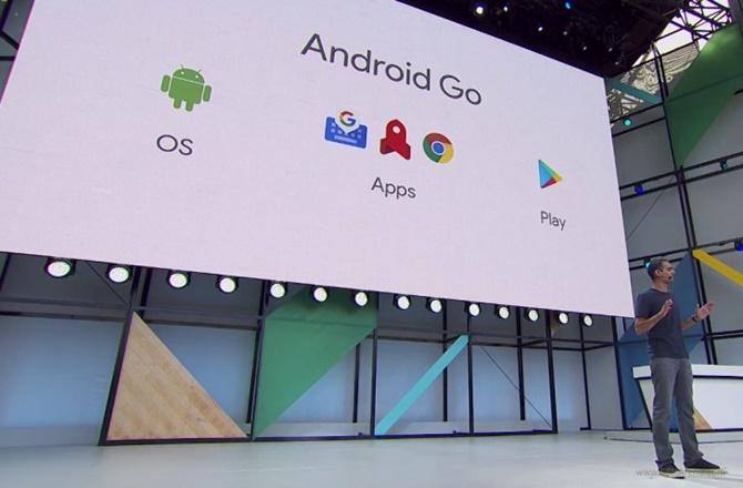Google công bố Android Go cho các thiết bị có RAM 1 GB hoặc ít hơn